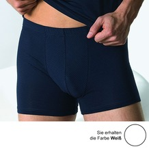 AMMANN Retro-Short, Serie Cotton & More, weiß 5