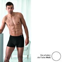 AMMANN Retro-Short, Serie Smart & Stripes, weiß 4