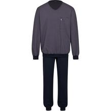 AMMANN Schlafanzug lang, Tasche, nightblue 48