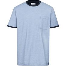 AMMANN Shirt 1/2 Arm, Rundhals Brusttasche, azur S