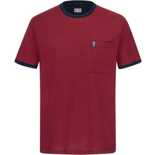 AMMANN Shirt 1/2 Arm, Rundhals Brusttasche, wildkirsche Gr. S