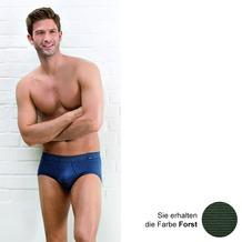 AMMANN Slip mit Eingriff, Serie Jeans, forst 5