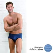 AMMANN Slip mit Eingriff, Serie Jeans, hellblau 5