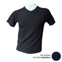 AMMANN V-Shirt, Serie Cotton & More, nightblue 5