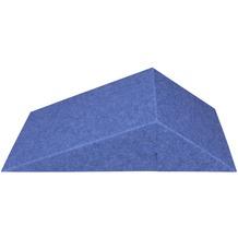 Amstyle 3D Akustik-Wandpaneel CALM 60,5x30,5x15cm Schalldämmung Blau mit Stoffbezug, Schallschutz für die Wand, Schallabsorber Platten Büro, Akustikpaneel farbig, Design Schalldämpfer Absorber blau