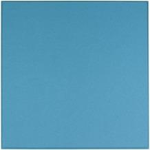 Amstyle Akustik-Wandpaneel CALM 60x60x3cm Schalldämmung Blau mit Stoffbezug, Schallschutz für die Wand, Schallabsorber Platten Büro, Akustikpaneel farbig, Design Schalldämpfer Absorber blau