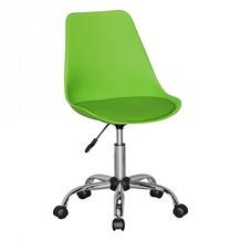 Amstyle KORSIKA | Drehstuhl Kunstleder Grün | Drehsessel Schreibtischstuhl Rückenlehne verstellbar