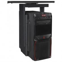 Amstyle PC-Halter 360° drehbar Universal Computerhalterung 46 - 68 cm schwarz