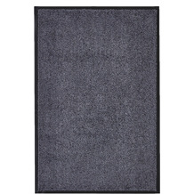 Andiamo Fußmatte Super Wash and Clean anthrazit uni 60 x 90 cm