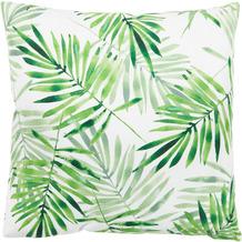 Andiamo In- und Outddor Kissen Nairobi Palmenblätter grün gemustert 40 x 40 cm
