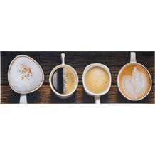 Andiamo Läufer Kitchen, Coffee 50 cm x 150 cm