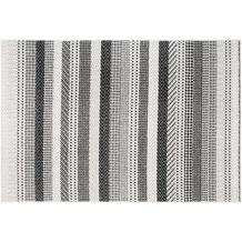 Andiamo Teppich Bolonia hellgrau gemustert 200 x 285 cm