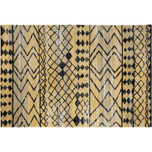Andiamo Teppiche Bonnie GELB-ANTHRAZIT gemustert 120 x 170 cm