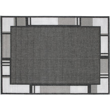 Andiamo Teppiche New Orleans anthrazit - silber gemustert 200 x 290 cm