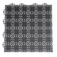 Andiamo Terra Sol Bodenfliesen 7 Stück schwarz 38 x 38 cm