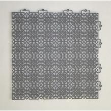 Andiamo Terra Sol Bodenfliesen 7 Stück dunkelgrau 38 x 38 cm