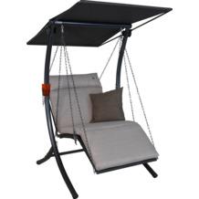 Angerer Hollywoodschaukel 1-Sitzer Swing beige 100 cm breit