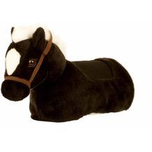 Animal Riding Baby-Horse schwarz, Kniepferd (Bein/Knieauflage mit Pferdekopf)
