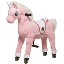 Animal Riding Einhorn pink small, für Kinder von 3-5 Jahren (10 Kg - 40 Kg)