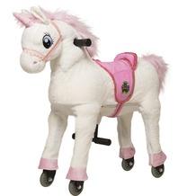 Animal Riding Einhorn weiss small, für Kinder von 3-5 Jahren (10 Kg - 40 Kg)
