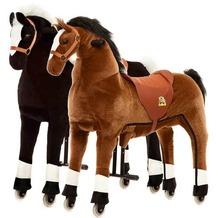 Animal Riding Pferde Maharadscha & Amadeus medium, für Kinder von 4-8 Jahren (15 Kg - 65 Kg)