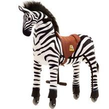 Animal Riding Zebra Marthi small, für Kinder von 3-5 Jahren (10 Kg - 40 Kg)