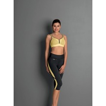 Anita active sport tights sport tights yellow/anthrazit L