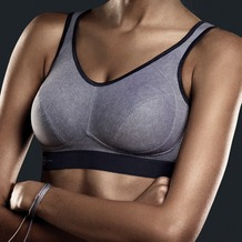 Anita active Sport-BH heather grey 65D