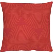 APELT Circle Loft Style Kissenhülle rot 40 cm x 40 cm