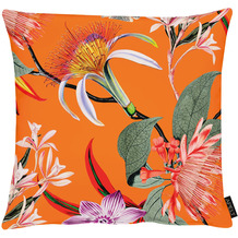 APELT Floral Living Kissen orange/bunt 45x45 cm