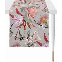 APELT Floral Living Läufer grau/bunt 48x140 cm