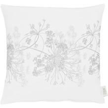 APELT Herbstzeit Kissen weiß/grau 45x45