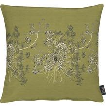 APELT Herbstzeit Kissenhülle grün 46x46