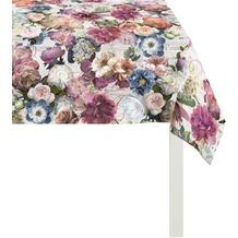 APELT Herbstzeit Tischdecke bordeauxrot/bunt 100x100