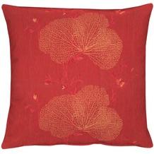 APELT Kissenhülle Loft Style, rot 46 cm x 46 cm, Pflanzen