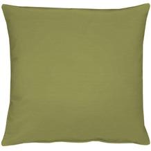 APELT Kissenhülle Uni Basic, dunkelgrün 40 cm x 40 cm