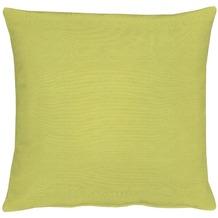 APELT Kissenhülle Uni Basic, hellgrün, schlicht 40 cm x 40 cm