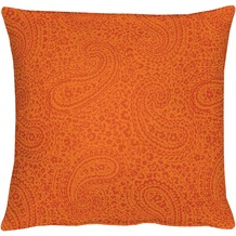 APELT Kissenhülle Uni Basic, orange, Barock 40 cm x 40 cm