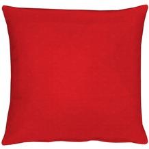 APELT Kissenhülle Uni Basic, rot, schlicht 40 cm x 40 cm