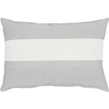 APELT Lennox Loft Style/ Kissenhülle weiß-grau 41 cm x 61 cm