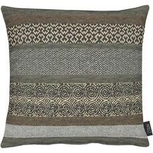 APELT Loft Style Kissen braun 45x45, abstrakt
