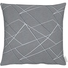 APELT Loft Style Kissen grau 45x45 cm, Scherbenmuster