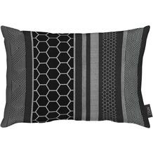 APELT Loft Style Kissen schwarz 35x50