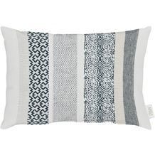 APELT Loft Style Kissen schwarz/weiß 35x45