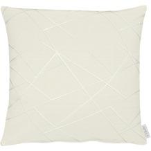 APELT Loft Style Kissen weiß/grau 45x45 cm