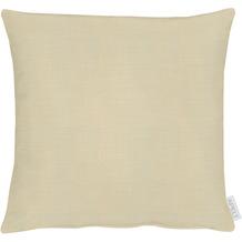 APELT Loft Style Kissenhülle Uni beige 40x40 cm