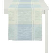 APELT Loft Style Läufer blau 44x140
