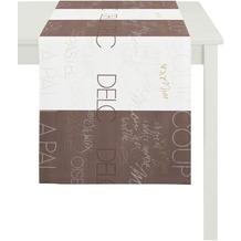 APELT Loft Style Läufer bran/weiß 44x140