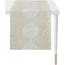 APELT Loft Style Läufer Grafikmusterung stein / natur / beige 48x140 cm