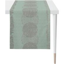 APELT Loft Style Läufer Grafikmusterung türis / natur 48x140 cm
